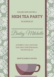 Tea Invitations Printable High Tea Invitation Template Afternoon Tea Invitations Royal Wedding