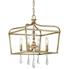 laurel estate 4 light brio gold mini chandelier