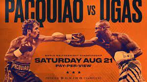 Manny Pacquiao vs Ugas Live Stream Free ...