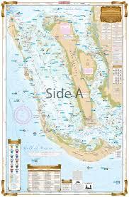 Pine Island Sound Chart Pine Island Sound And Matlacha Inshore Fishing Chart 25f