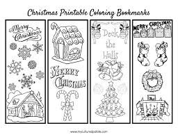 Free downloadable printable pictures for christmas. Free Christmas Bookmarks To Color Cultured Palate