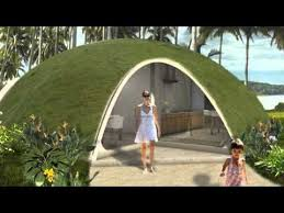 Colorful Binishell Dome Homes Made from Inflatable Concrete Cost Just $3,500