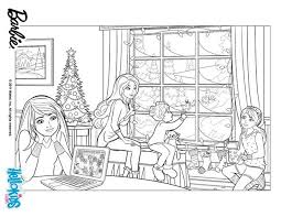 Small Picture Barbies christmas story coloring pages Hellokidscom