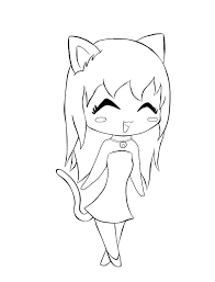 Coloring Pages Cute Anime Girl Coloring Pages Girls Page Cute