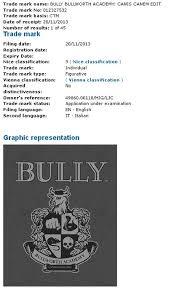 Rockstar Have Filed A Trademark For Bully Bullworth Academy