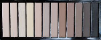 first off how clever of makeup revolution to smash together all of the amazing neutral shades similar to both of urban decay s basics palettes
