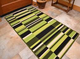 amazing of lime green kitchen rug with small large lime dk green long hall runner kitchen