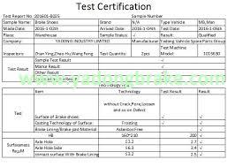 China Rockwell Meritor Timken Brake Shoe Factory Fmsi 4471