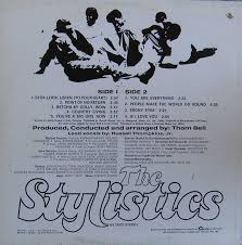 the stylistics 1971 st back cover