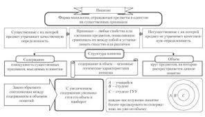 Понятие Введение Сущность структура и виды понятий Логика для  Сущность и структура понятия