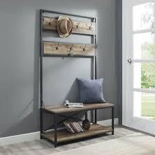 Hallway Seat And Coat Rack Coat Rack Bench For Less Overstock 88