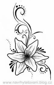 Lilie S Ornamenty Tetování Tetovánínávrhy Tetováníkvětiny