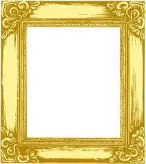 gold frame border vector. Brilliant Gold Gold Frame Border Set Of Antique Photo Elements Vector  Inside Gold Frame Border Vector T