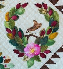 208 best Applique Quilts images on Pinterest   Applique quilts ... & ... used by permission from Anita Shackelford. Swan motif adapted from  Jaydee Price pattern). National Juried Show 2015 ~ Canadian Quilters'  Association Adamdwight.com
