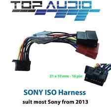 sony mex btu sony iso wiring harness mex n4050bt mex n5050bt mex n4150bt mex n5150bt