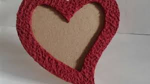 how to make lovely heart shape photo frame diy crafts tutorial guidecentral you