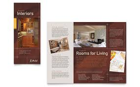Printable Tri Fold Brochure Template Cool House Brochure Design Home Remodeling Tri Fold Brochure Template