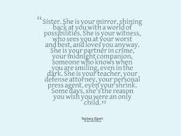 Sister Quote Beauteous The 48 Big Sister Quotes WishesGreeting