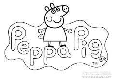 Small Picture Colorear Peppa Pig y su familia en pijama Clases de Nios