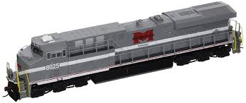 Ho Ditch Lights Bachmann Ge Es44ac Dcc Sound Value Equipped Diesel Locomotive Monongahela 8025 With Operating Ditch Lights Ho Scale