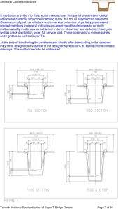 T Girder Bridge Design Example Super T Standardisation And Detailing For Bridge Girders