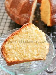 Sri Lankan Golden Butter Cake My Sri Lankan Recipes