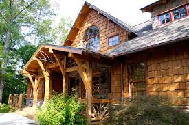 rustic timber frame house plan
