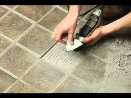 removing broken floor tile dremel multi max