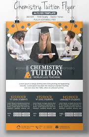 Tutor Flyer Templates Chemistry Tutor Flyer Template