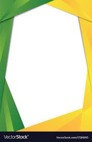 frame border. Fine Border Green And Yellow Triangle Frame Border Vector Image In Frame Border