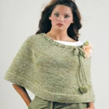 Free Knitted Poncho Patterns Custom The Poncho Red Heart
