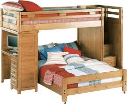 Image Twin Trundle Creekside Taffy Twin Full Step Bunk Bed With Desk Bunkloft Beds Light Wood Rooms To Go Kids Creekside Taffy Twin Full Step Bunk Bed With Desk Bunkloft Beds