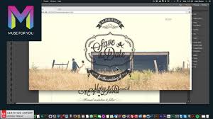 Creating a Wedding Website | Desktop, Tablet, Mobile | Adobe Muse CC ...