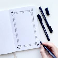 Easy To Make Border Designs Diy Three Beautiful Borders With A Rectangle Base Archer