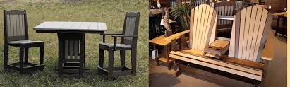amish built outdoor furniture including amish rocking chairs amish picnic patio table and chairs