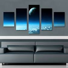 ... space wall art superb wall art ideas on contemporary wall art ...