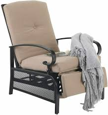 patio chair with cushion lounger teak
