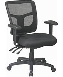 stylish office chairs. Office Star High Back ProGrid Free Flex Seat With Adjustable Arms And Dual Function, Black Stylish Chairs