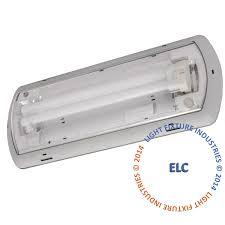 emergency light 24w fluorescent wet location 6 week lead time