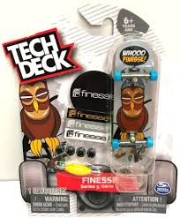 Tech Deck Board Designs Tech Deck Fineese Series 5 Skateboard Toy Fingerboard Rare