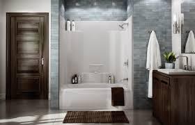 beautiful one piece bathtub wall surround ilration bathroom