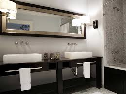 stylish modular wooden bathroom vanity. Latest Wash Basins Table Top With Gray Stained Wall Black Wooden Bathroom Vanity White Ceramic Stylish Modular