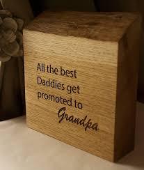 personalised oak grandad s gift