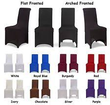 dining chair covers flat arched 1 4 6 8 10pcs