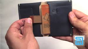 Bellroy Slim Sleeve Designers Edition Review Bellroy Slim Sleeve Wallet Unboxing And Review Slim Wallet Junkie