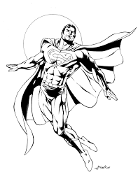 Small Picture Superman Color Pages Superhero Superman Coloring Book To Print