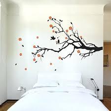 real tree branch wall art cherry blossom tree branch with birds vinyl wall art decal tree