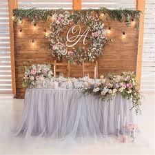 Rustic Weddings  30 Unique and Breathtaking Wedding Backdrop Ideas    More: http