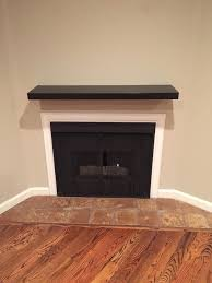 fireplace mantel wall condo