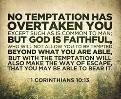Scripture for Living: 1 Corinthians 10:13 | Toluna
